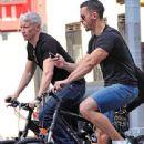 Anderson Cooper and Benjamin Antoine Maisani