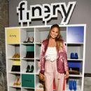 Chrissy Teigen – Finery App launch party hosted by Brooklyn Decker in Culver City - 454 x 654