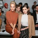 Natalia Dyer attends the Noon By Noor front row during New York Fashion Week: The Shows at Gallery II at Spring Studios on February 7, 2019 in New York City - 400 x 600
