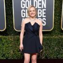 Elisabeth Moss At The 76th Annual Golden Globes  - Arrivals (2019)