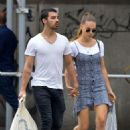 Joe Jonas & Blanda at Soho, NYC (August 26)