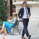 """Blake Lively: filming """"Gossip Girl"""" on Madison Avenue in NYC"""