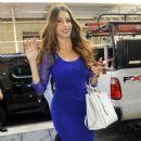 Sofia Vergara arriving at ABC studios (August 28)