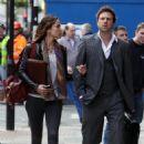 Sophie Anderton Walking In London, 7 May 2010
