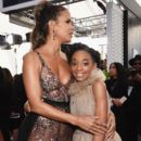 Halle Berry and Eris Baker At The 24th Annual Screen Actors Guild Awards (2018) - 398 x 600