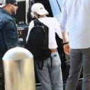 Kristen Stewart – Arrives at Los Angeles International Airport