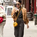 Vanessa Hudgens Leaving Her Apartment In Ny