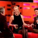 Graham Norton, Jennifer Lawrence and Eddie Redmayne on The Graham Norton Show - 454 x 265