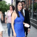 Nikki And Brie Bella Arrives – Seen at The Chew In New York - 454 x 544