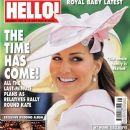 Kate Middleton - Hello! Magazine Cover [United Kingdom] (15 July 2013)