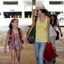 Selena Gomez - Arrives At Miami Airport, Florida – July 17, 2010