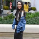 Stephanie Davis – Leaves Menagerie in Manchester - 454 x 717