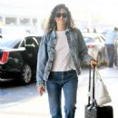 Emmy Rossum – Arrives at LAX Airport in LA - 454 x 618