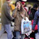 Keri Russell shopping in Brooklyn, New York, March 29, 2011