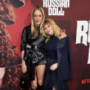 Besties: On Wednesday, Natasha Lyonne (R) was supported by Chloe Sevigny at Event for Russian Doll