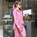 Halle Berry in Pink out in Beverly Hills