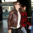 Alison Brie at Charles de Gaulle Airport in Paris
