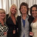 Mick Jagger backstage in Nashville - 17 June 2015