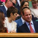 Catherine, Duchess of Cambridge and Prince William, Duke of Cambridge attend Wimbledon Lawn Tennis Championships