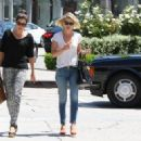Ali Larter: walks to her car in Beverly Hills