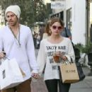 Ashley Benson and Ryan Good in Los Angeles, California (January 23) - 454 x 302