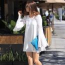 Actress Crystal Reed goes shopping in Beverly Hills, California on July 19, 2016 - 410 x 600