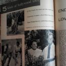 Alan Ladd and Sue Carol - Movie Life Magazine Pictorial [United States] (November 1955) - 454 x 605