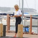 Christie Brinkley – Capturing with phone Tropical Storm Isaias approaching The Hamptons - 454 x 303