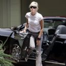 Sharon Stone - Brentwood Candids, 13.08.2008.
