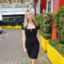 Caprice Bourret Arrives at Excel Business show in London - 454 x 681