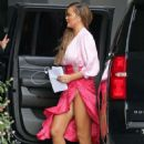 Chrissy Teigen – Arrives for a meeting in Los Angeles