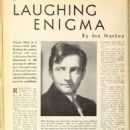 Claude Rains - Picture Play Magazine Pictorial [United States] (August 1935)