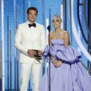 Bradley Cooper and Lady Gaga At The 76th Annual Golden Globe Awards - The Show (2019)