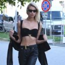 Stella Maxwell at Milan Fashion Week