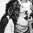 Debbie Harry and Roger Taylor