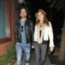 Jamie Kennedy and girlfriend Nicolle Radzivil - 231 x 300