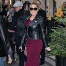 Mariah Carey – Seen at Plaza Athenee hotel in Paris - 454 x 681