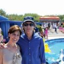 Publicist Peggy Siegal and Mick Jagger in Cannes/2008