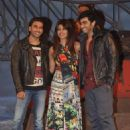 Priyanka Chopra, Ranveer Singh and Arjun Kapoor attend Gunday music launch (January 07, 2014)