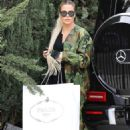 Khloe Kardashian – Visit her BFF Malika Haqq in Los Angeles