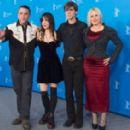 The cast and director of Boyhood at the Berlin Film Festival