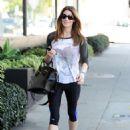 Ashley Greene Leaving The Gym In La