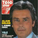 Alain Delon - Télé Star Magazine Cover [France] (3 September 1990)