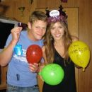 Kayla Ewell and Zach Roerig