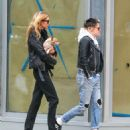 Kristen Stewart and Stella Maxwell out in New York City - 454 x 562