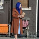 Dakota Fanning – Filming 'Sweetness in the Belly' in Dublin - 454 x 579