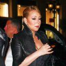 Mariah Carey At Polo Bar In New York City