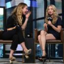 Amanda Seyfried and Lily James – Visit AOL Build Series in NYC - 454 x 303