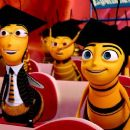 (Right to left) Classmates of the Graduating Class of 9:15 Barry B. Benson (JERRY SEINFELD) and Adam Flayman (MATTHEW BRODERICK) tour Honex: A Division of Honesco: A Part of the Hexagon Group, in DreamWorks' BEE MOVIE, to be released by Paramount Pi - 454 x 255
