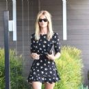 Rosie Huntington-Whiteley in Short Dress Out in West Hollywood